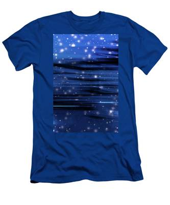 Men's T-Shirt (Athletic Fit) featuring the photograph Holiday Night IIi by Anne Leven