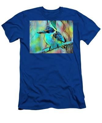 Kookaburra Blues Men's T-Shirt (Athletic Fit)