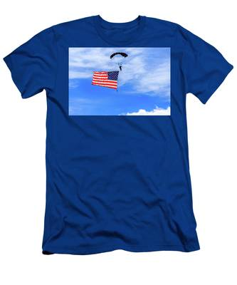 Socom Flag Jump Men's T-Shirt (Athletic Fit)