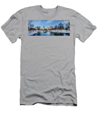 Charlotte Downtown Men's T-Shirt (Athletic Fit)