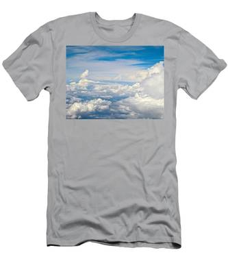 Above The Clouds Over Texas Image B Men's T-Shirt (Athletic Fit)