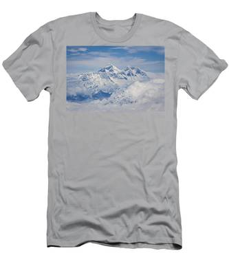 Aerial View Of Mount Everest, Nepal, 2007 Men's T-Shirt (Athletic Fit)