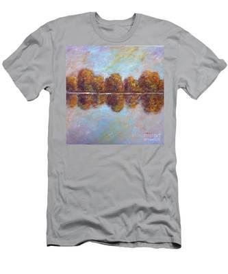 Autumnal Atmosphere Men's T-Shirt (Athletic Fit)