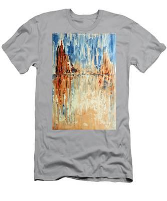 Desert Mirage Men's T-Shirt (Athletic Fit)