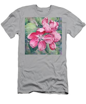 Flower Of Crab-apple Men's T-Shirt (Athletic Fit)