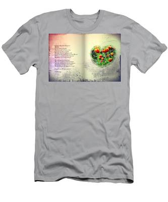 Men's T-Shirt (Athletic Fit) featuring the photograph I Carry Your Heart With Me  by Bill Cannon