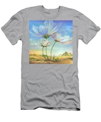 In The Half-shadow Of Wild Flowers Men's T-Shirt (Athletic Fit)