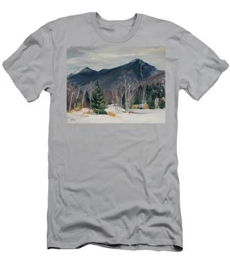 Liberty In Franconia Range Men's T-Shirt (Athletic Fit)