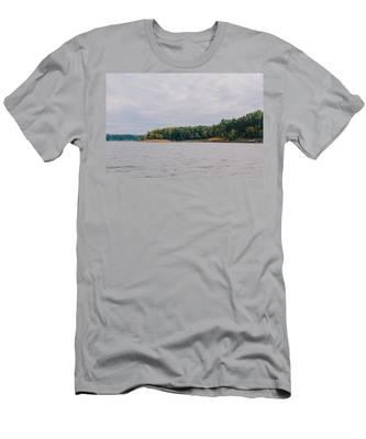Men Fishing On Barren River Lake Men's T-Shirt (Athletic Fit)