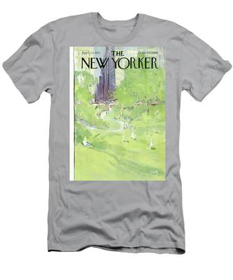 New Yorker April 24th, 1971 Men's T-Shirt (Athletic Fit)