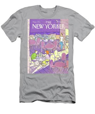 New Yorker August 3rd, 1992 Men's T-Shirt (Athletic Fit)