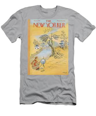 New Yorker January 12th, 1957 Men's T-Shirt (Athletic Fit)