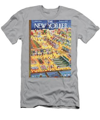 New Yorker June 2nd, 1962 Men's T-Shirt (Athletic Fit)