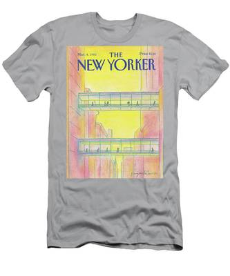 New Yorker March 4th, 1985 Men's T-Shirt (Athletic Fit)