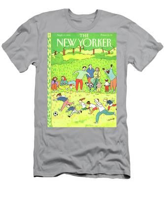 New Yorker September 2nd, 1991 Men's T-Shirt (Athletic Fit)