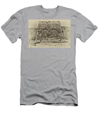 Outside The Eastern Gate Old City Jerusalem Men's T-Shirt (Athletic Fit)