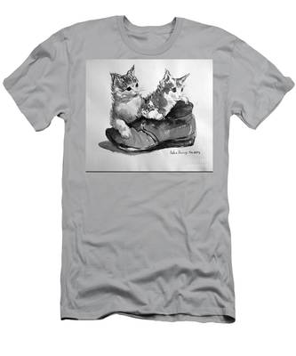 Playful Kittens Men's T-Shirt (Athletic Fit)