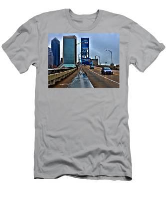 Ride The Rail Men's T-Shirt (Athletic Fit)