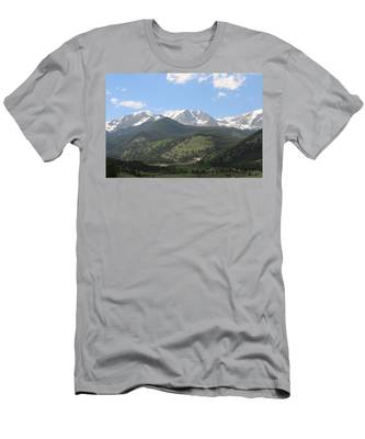 Men's T-Shirt (Athletic Fit) featuring the photograph Rocky Mountain National Park - 3  by Christy Pooschke