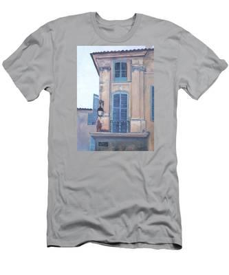 Rue Espariat Aix-en-provence Men's T-Shirt (Athletic Fit)