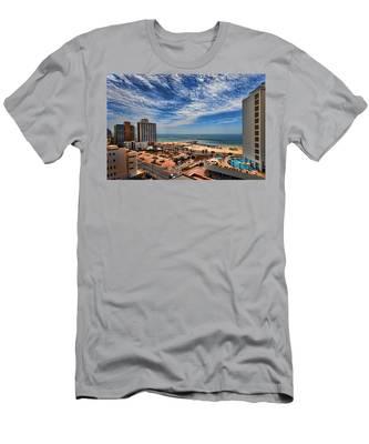 Tel Aviv Summer Time Men's T-Shirt (Athletic Fit)