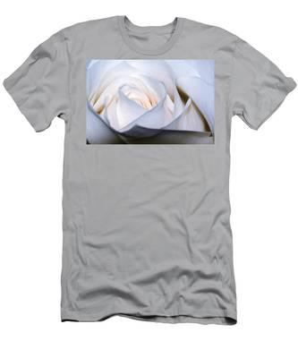 White Rose Men's T-Shirt (Athletic Fit)