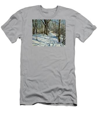Woodland Journey Men's T-Shirt (Athletic Fit)