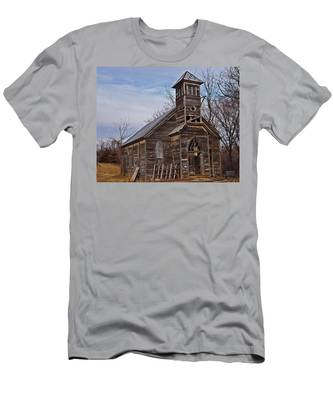 Abandoned Church Men's T-Shirt (Athletic Fit)