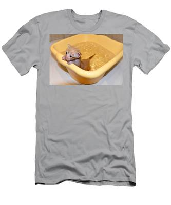 Men's T-Shirt (Athletic Fit) featuring the photograph Little Bath by Michael Goyberg