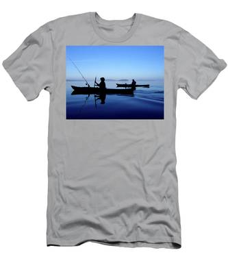 On The Deep Blue Sea Men's T-Shirt (Athletic Fit)
