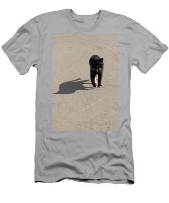 Men's T-Shirt (Athletic Fit) featuring the photograph Owner by Michael Goyberg
