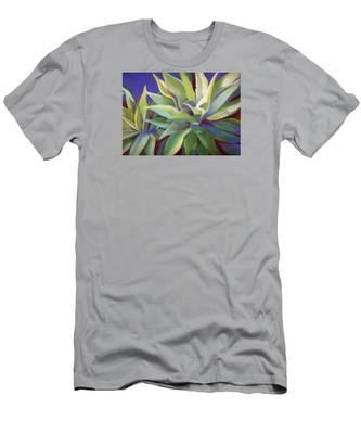 Aloe Plants In Big Sur Men's T-Shirt (Athletic Fit)