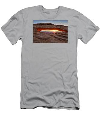 Another Sunrise At Mesa Arch Men's T-Shirt (Athletic Fit)