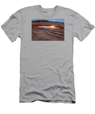 Awakening At Mesa Arch Men's T-Shirt (Athletic Fit)