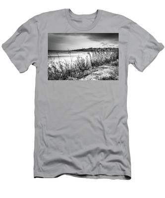 Beach In Ogunquit Men's T-Shirt (Athletic Fit)