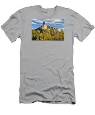 Before Sunset At Chimney Rock Men's T-Shirt (Athletic Fit)