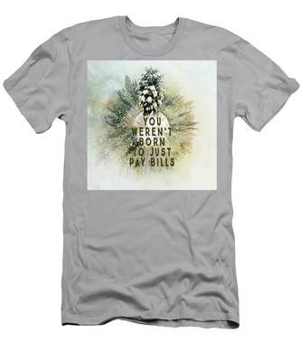 Born To Pay Bills Men's T-Shirt (Athletic Fit)