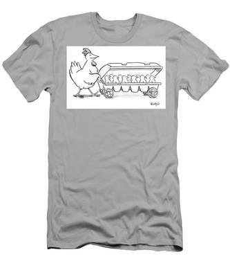 Carton Of Chicks Men's T-Shirt (Athletic Fit)