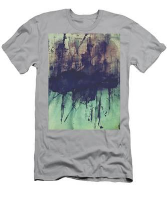 Christmas Shopping Men's T-Shirt (Athletic Fit)