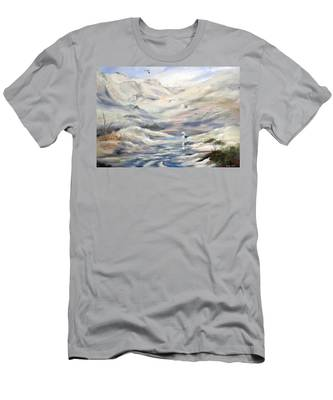 Coorong, South Australia. Men's T-Shirt (Athletic Fit)