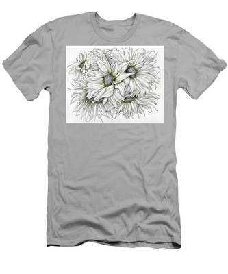 Sunflowers Pencil Men's T-Shirt (Athletic Fit)