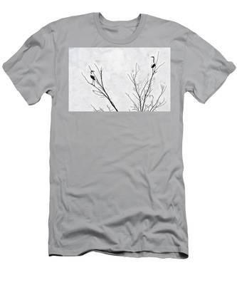 Dead Creek Cranes Men's T-Shirt (Athletic Fit)