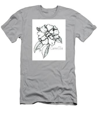 Dew Kissed Camellia Men's T-Shirt (Athletic Fit)