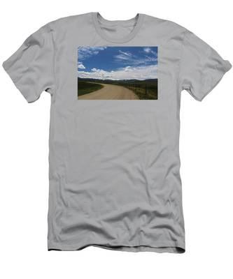Dusty  Road Men's T-Shirt (Athletic Fit)