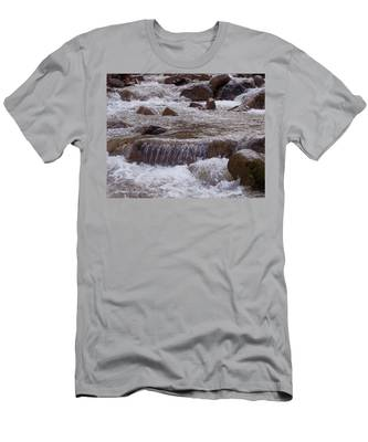 Ellenville Waterfall Men's T-Shirt (Athletic Fit)