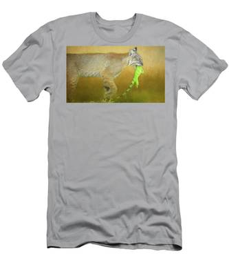 Exotic Lunch. Men's T-Shirt (Athletic Fit) by Evelyn Garcia
