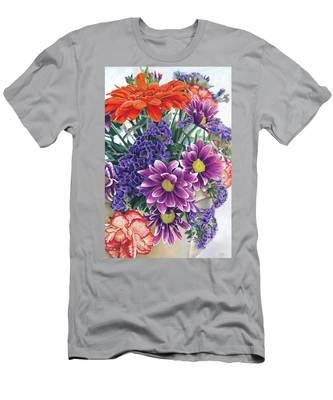 Flowers From Daughter Men's T-Shirt (Athletic Fit)