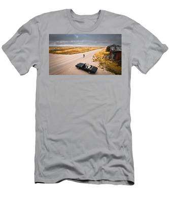 Men's T-Shirt (Athletic Fit) featuring the photograph Girl Of The Golden West by Carl Young