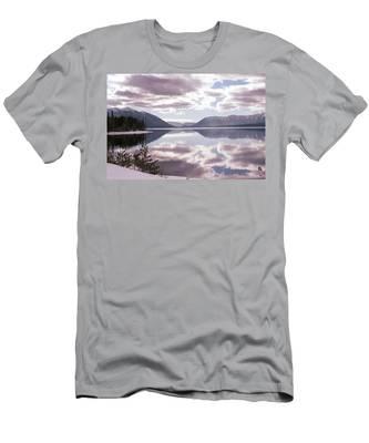 Glacier National Park 6 Men's T-Shirt (Athletic Fit)
