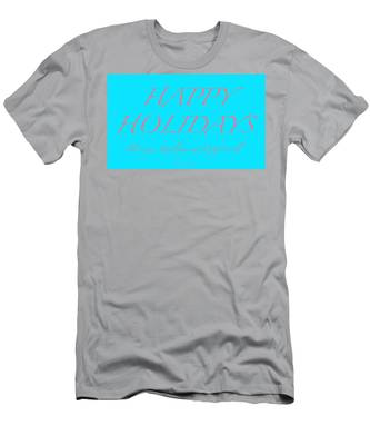 Happy Holidays - Day 3 Men's T-Shirt (Athletic Fit)